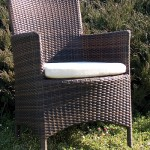 Poltroncina Sidney in polyrattan