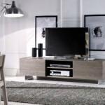 Porta TV Legno Massello Natural