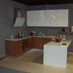 Cucina Lube Pamela Ciliegio-Bianco Lucido 01