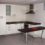 Cucina Lube Odessa Larice Bianco